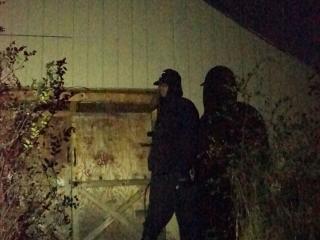Haunted Shadows Barn