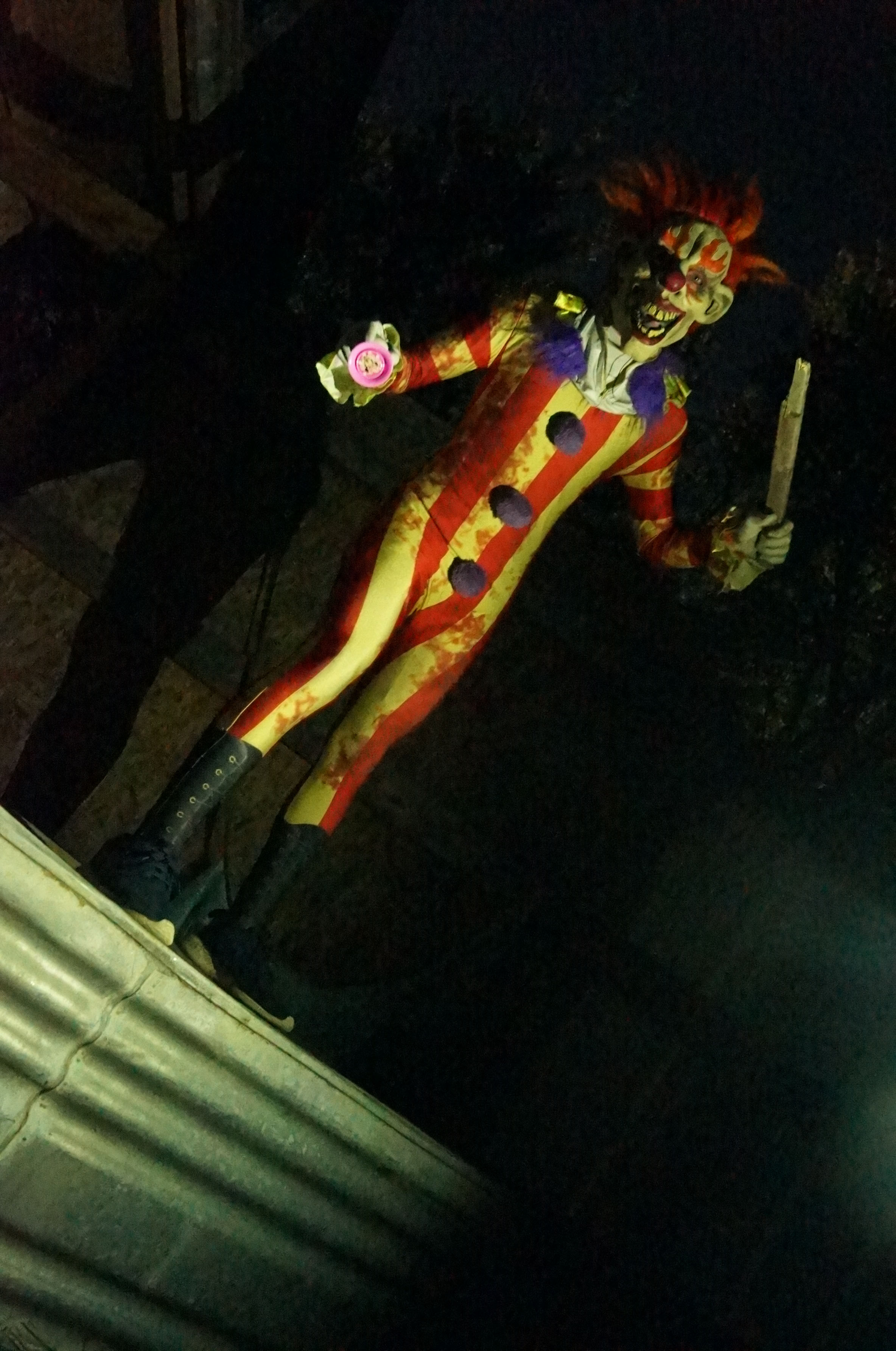 Haunted Shadows Killer Clown