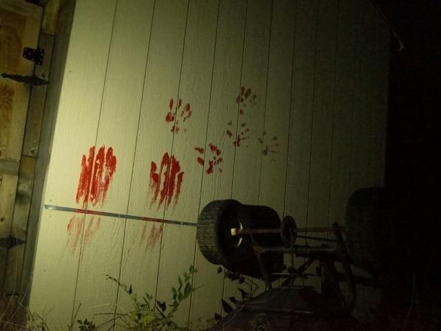 Bloody Barn Outdoor Haunt
